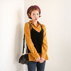 Seoul Fashion - Spaghetti-Strap Camisole Top