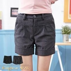 RingBear - Cuffed Shorts