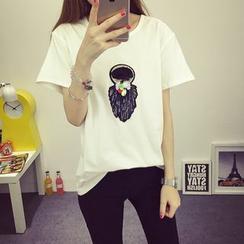 VIZZI - Embroidered T-Shirt