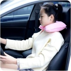 Good Living - Set: Inflatable Neck Pillow + Eye Mask + Foam Ear Plugs