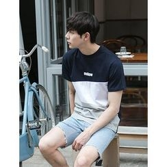 STYLEMAN - Short-Sleeve Colored T-Shirt