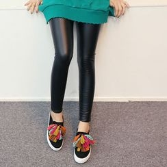 DANI LOVE - Faux-Leather Leggings