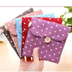Lover's Kiss - Polka Dot Sanitary Pouch