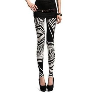 Lynley - Geometric Pattern Leggings