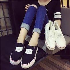 時尚麥樂 - 散邊貼飾輕便鞋