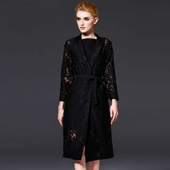 Seagrass - Embroidery Trench Coat