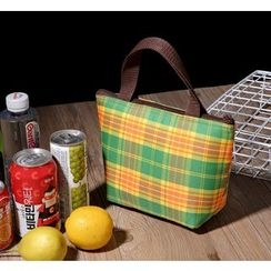 Aoba - Plaid Lunch Bag