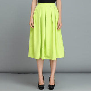 YiGelila - Pleated Midi Skirt