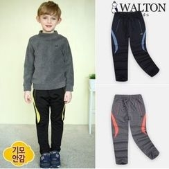 WALTON kids - Boys Brushed-Fleece Lined Sweat Pants