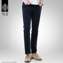 Hey! DUDE - Plain Slim Fit Pants