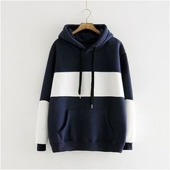 Storyland - Color-Block Hooded Pullover