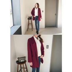 J-ANN - Wool Blend Coat