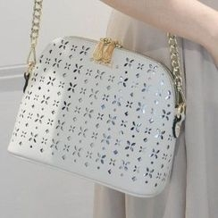 Axixi - Perforated Cross Bag