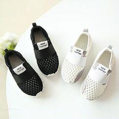 綠豆蛙童鞋 - 小童網紗便鞋