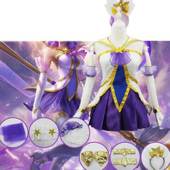 Cosgirl - League of Legends Star Guardian Janna Cosplay Costume