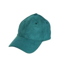 Mr. Cai - Faux Suede Baseball Hat
