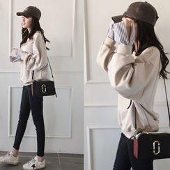 NIPONJJUYA - Layered-Cuff Sweatshirt