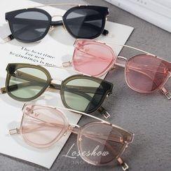罗煞秀 - 双梁粗框太阳眼镜
