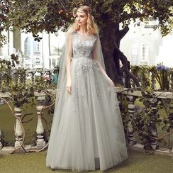 Nidine - Lace Evening Gown