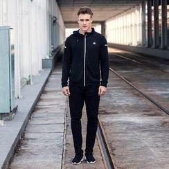 Accentum - Set: Hooded Zip Jacket + Sweatpants