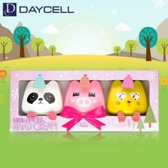 DAYCELL - Animal Hand Cream Set 3pcs