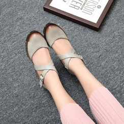 Pastel Pairs - Block Heel Shoes