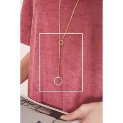 migunstyle - Round Long Necklace