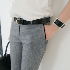 CLICK - Flat-Front Trousers