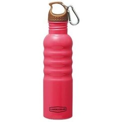 Skater - Earth Color Stainless Outdoor Bottle (Pink)