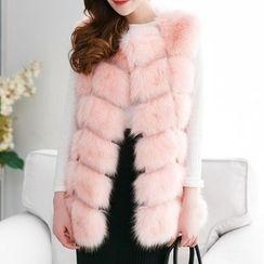 Ryefield - Furry Long Vest
