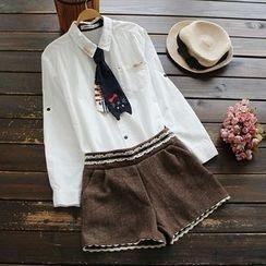 YOYO - 领带-装饰衬衫
