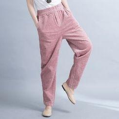 Dream Girl - Corduroy Harem Pants
