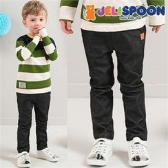 JELISPOON - Kids Band-Waist Star Studded Jeans