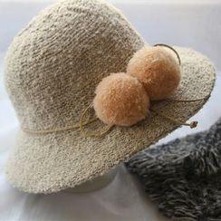 Hats 'n' Tales - Pom Pom Cloche Hat