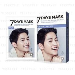 forencos - 7 Days Mask Swallow's Nest Nutrition Silk Mask (Monday)