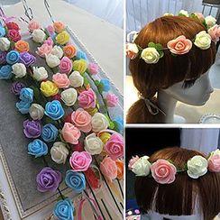 Miss Floral - Flower Headpiece