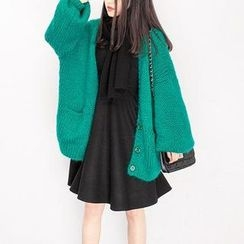 Shiga - 粗織寬鬆毛衣