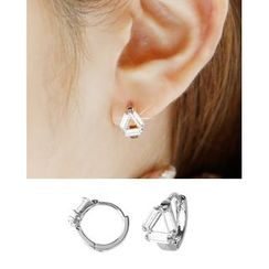Miss21 Korea - Crystal Earrings