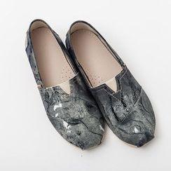 Ashen - 中国风帆布鞋