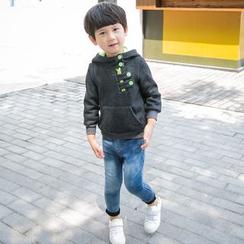 Lemony dudu - Kids Contrast Hood Pullover