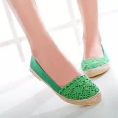 Pangmama - Crochet Espadrille Flats