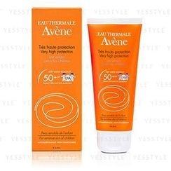 Avene - 嬰幼兒高效防曬乳 SPF 50+