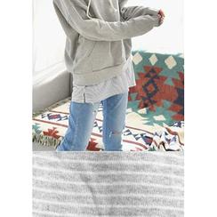 GOROKE - Hooded Cotton Top
