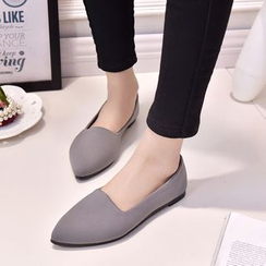 Simply Walk - 帆布平跟鞋