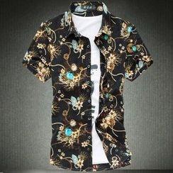 Riverland - Printed Short-Sleeve Shirt