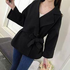 Bloombloom - Tie Waist Coat