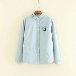 Mushi - Plant Print Shirt