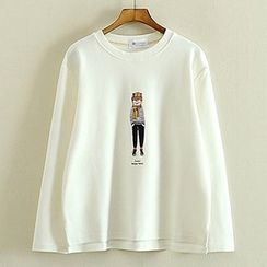 Storyland - Long-Sleeve Print T-Shirt