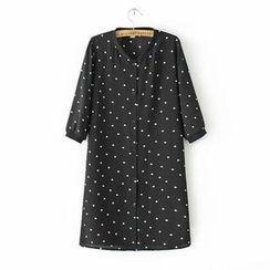 Ainvyi - Dotted Shirt Dress