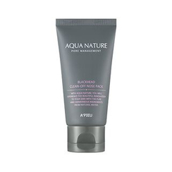 A'PIEU - Aqua Nature Blackhead Clean-Off Nose Pack 50ml
